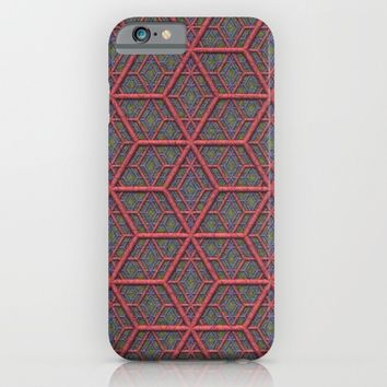 Gridlines iPhone & iPod Case by Lyle Hatch
