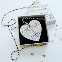 'You Make My Heart Sing' Valentine Heart In Box