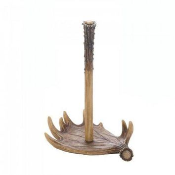 Moose Antler Paper Towel Holder (pack of 1 EA)