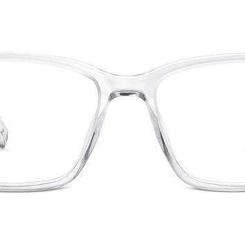 Nash Crystal Clear Prescription Glasses from Warby Parker | My