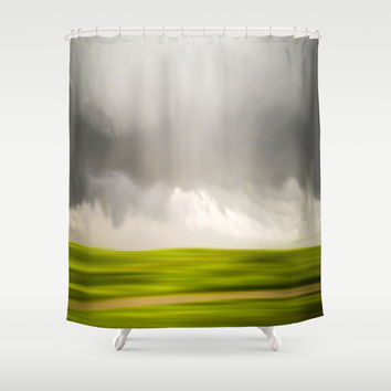 Stormy May Day Shower Curtain by Armine Nersisian