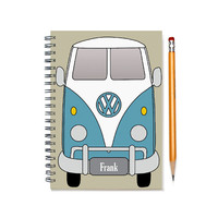 Volkswagen Split Window Single Cab Custom Planner, Gift for Man, Car Enthusiast, Present for Man, Brother, Husband, Double Cab, SKU: pl vw