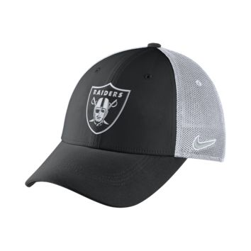 Nike Legacy Vapor Mesh Back (NFL Raiders) Fitted Hat