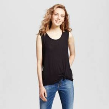 Women's Knot Front Tank - Mossimo Supply Co.™