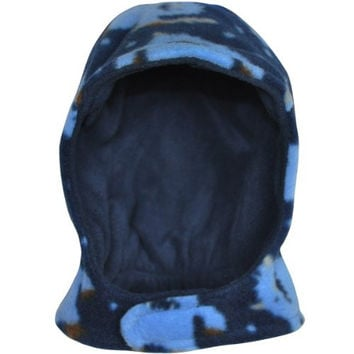 i play Baby Boys' Winterwear Pilot Hat - Blue - 0-6 Months