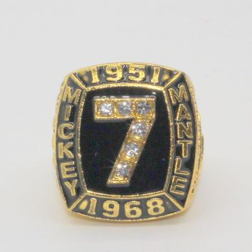 Hot selling 1951 1968 Mickey Mantle 536 homeruns ring