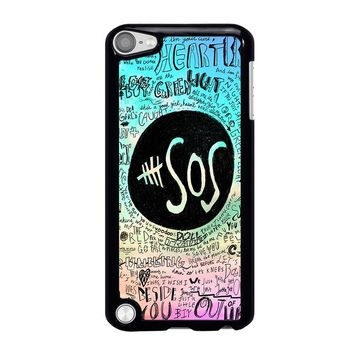 5 SECONDS OF SUMMER 3 5SOS iPod Touch 5 Case Cover