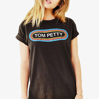 """Tom Petty"" O -Neck Top"