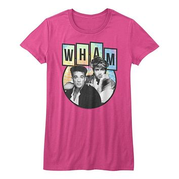 Wham Music Tidedyepod Juniors Short Sleeve T Shirt