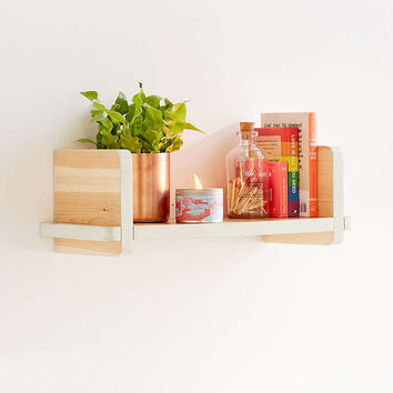 Adrian Wooden Shelf - Urban Outfitters