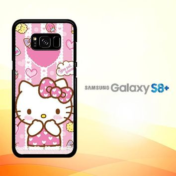 Hello Kitty Candy Pink L1944 Samsung Galaxy S8 Plus Case