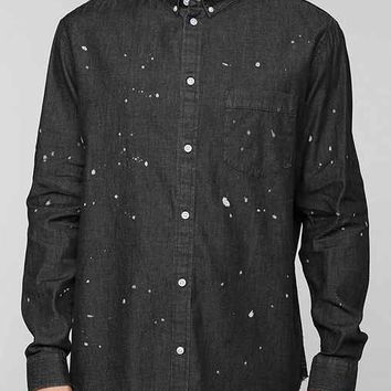 Cheap Monday Frank Denim Button-Down Shirt - Black