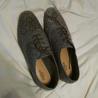grey vintage Crowa shoes, worn once! size 8