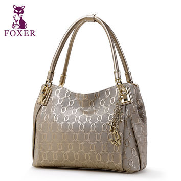 FOXER women handbag genuine leather bag 2015 fashion evening lad 2ad481570e2fc