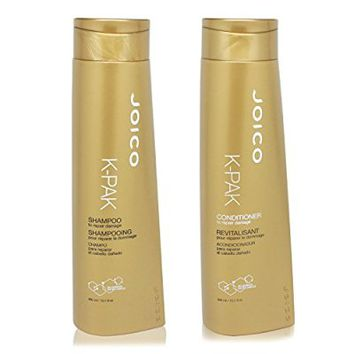 JOICO K PAK Reconstruct Shampoo and Conditioner 10.1oz Duo Set (To repair damaged hair)