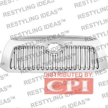 Toyota 2007-2009 Toyota Tundra Chrome Vertical Bar Abs Grille Performance