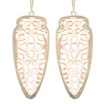 Sadie Spear Earrings in Rose Gold - Kendra Scott Jewelry
