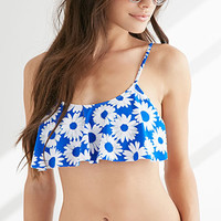 Daisy Fly-Away Bikini Top