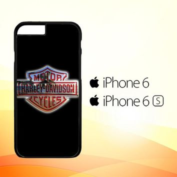 Harley Davidson Auto Metal Logo E0853 iPhone 6|6S Case