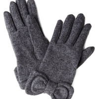 Not to Worry Gloves in Grey | Mod Retro Vintage Gloves | ModCloth.com