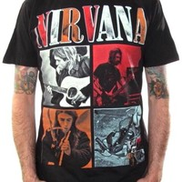 Nirvana T-Shirt - Photo Collage