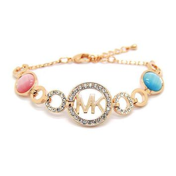 ESBONG Great Deal Awesome New Arrival Stylish Shiny Hot Sale Gift Korean Ring Cats Alphabet Accessory Bracelet [10417740308]
