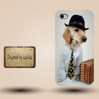 unique iphone case, i phone 4 4s 5 case,cool cute iphone4 iphone4s  5 case,stylish plastic rubber cases cover, dog funny  p964