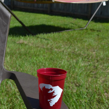 Gamecock Monogram Stadium Cup ~ USC Gamecocks~ Party Cup~ South Carolina