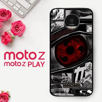 Anime Naruto Sharingan X4954  Motorola Moto Z Play Case