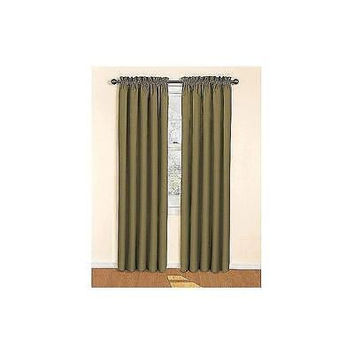 "Eclipse Curtains Olive 42"" X 63"""