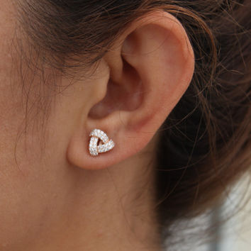 Sterling Silver Stud / Ear Pins