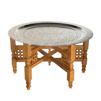 Handmade Moroccan Tea Table