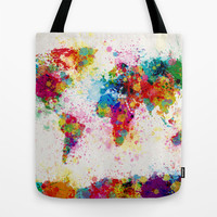 A Painter's World Tote Bag