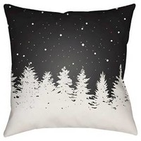Winter Retreat Throw Pillow Surya