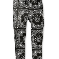 Elwood Bandana Stretch Denim Jogger Pants