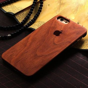 iPhone 6 and 6s - Elegant Bamboo Wood Case