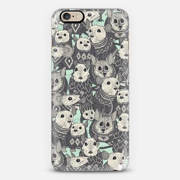 sweater mice mint iPhone 6s case by Sharon Turner | Casetify