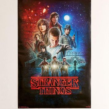 DCCKVE6 Stranger Things Cinema Poster | Urban Outfitters