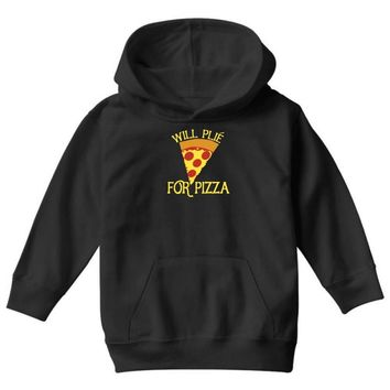 will plie for pizza Youth Hoodie