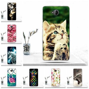 Soft TPU Case For Nokia Microsoft Lumia 650 Cover Luxury Phone Cover for Nokia Microsoft Lumia 650 Case Protective Fundas Capas