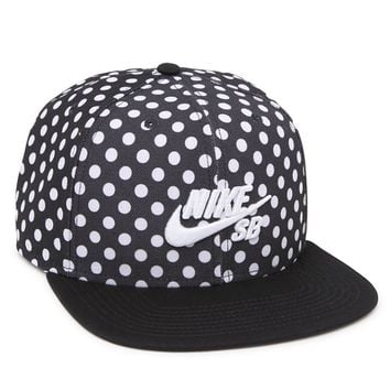 Nike SB Polka Icon Snapback Hat - Mens Backpack - Black - One