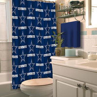 Dallas Cowboys NFL Shower Curtain
