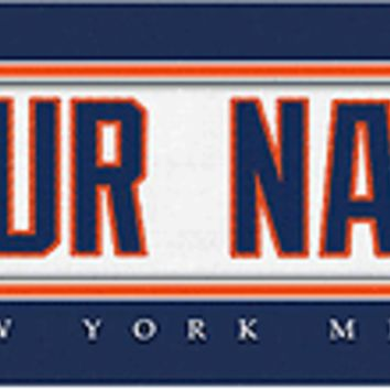 Baseball-MLB Jersey Stitch Print New York Mets Personalize for YOU!