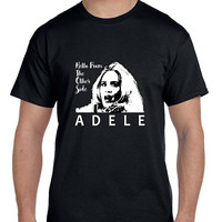 Adele Hello From The Other Side Illustrations Arf Mens T Shirt
