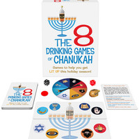 Kheper Games Inc. 8 Drinking Games Of Chanukah