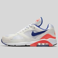 AUGUAU NIKE AIR MAX 180 OG WHITE ULTRAMARINE-SOLAR RED