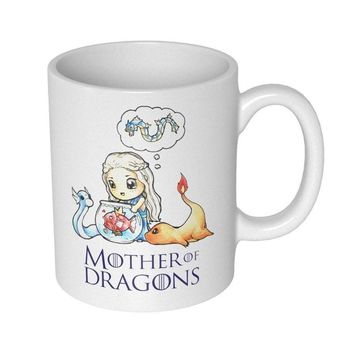 Mother of Dragons Mug | Coffee Cup Perfect  Game of Thrones Lovers
