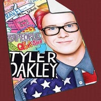 "Tyler Oakley Collage Art Kids Blanket Game Blanket All Character Popular Game, Cute and Awesome Blanket for your bedding, Blanket fleece ""NP"""