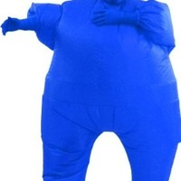 Inflatable Adult Chub Suit Costume (Blue)