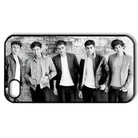 CTSLR Music & Singer Series Protective Hard Case Cover for iPhone 4 & 4S - 1 Pack - One Direction - We Are Together 5